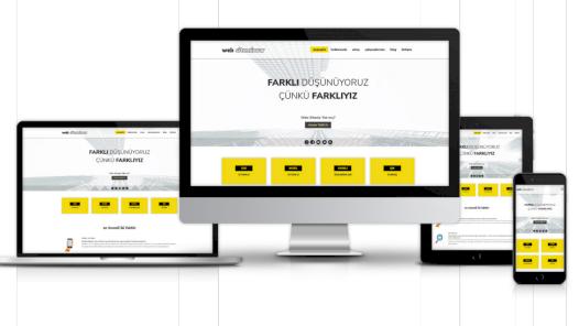 Sizin için yönetilebilir kurumsal web sitesi yapabilirim.