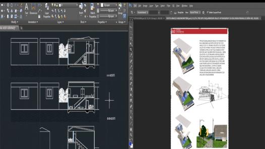 3D-2D çizimler- photoshop düzenlemeler-pafta düzenlemeler-autocad-sketchup-ödevler yapılır.
