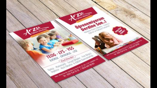Broşür & Katalog Tasarımınızı Yapabilirim!