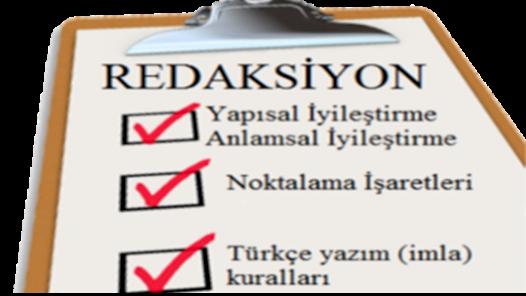 Türkçe veya İngilizce Metinlerinizi Düzenleyebilirim!