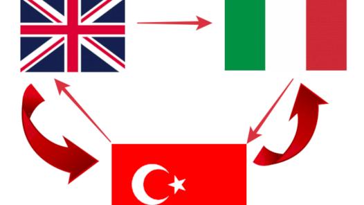 İtalyanca-İngilizce-Türkçe Çeviri