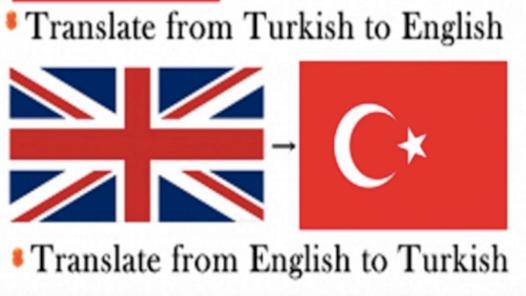 Ben, profesyonel ve kaliteli İngilizce-Türkçe çeviri yapabilirim