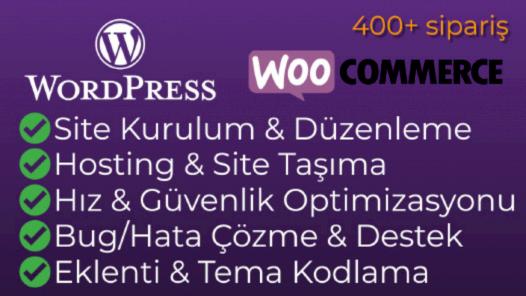 Wordpress ve PHP işleriniz için bir Uzman olarak buradayım.