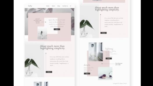 Web sayfası tasarımlarımın modern ve kullanımı kolay olmasına önem veriyorum.