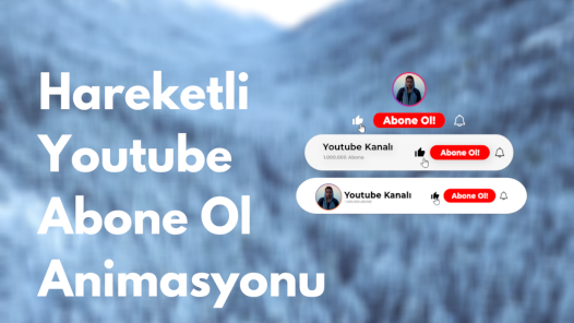 Youtube abone ol butonu animasyonu