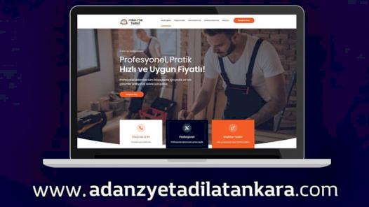 3 İş Gününde Teslim Profesyonel Websitesi