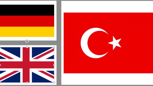 Almanca, İngilizce ve Türkçe dillerinde başarılı çeviriler
