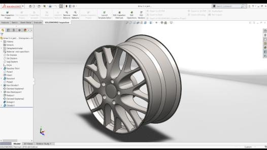 Solidworks ortamında 3D modelleme ve analiz