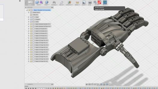 Autodesk Fusion 360 tabanlı 3 Boyutlu tasarımlarınızı yapabilirim