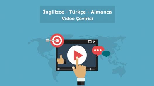 Video/Ses Kaydı Transkripsiyon Türkçe-İngilizce-Almanca Çeviri