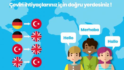 Almanca-Türkçe-İngilizce Çeviri