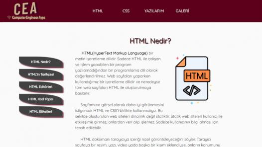 Html , Css ve Bootstrap kullanarak statik web sitesi hazırlayabilirim.