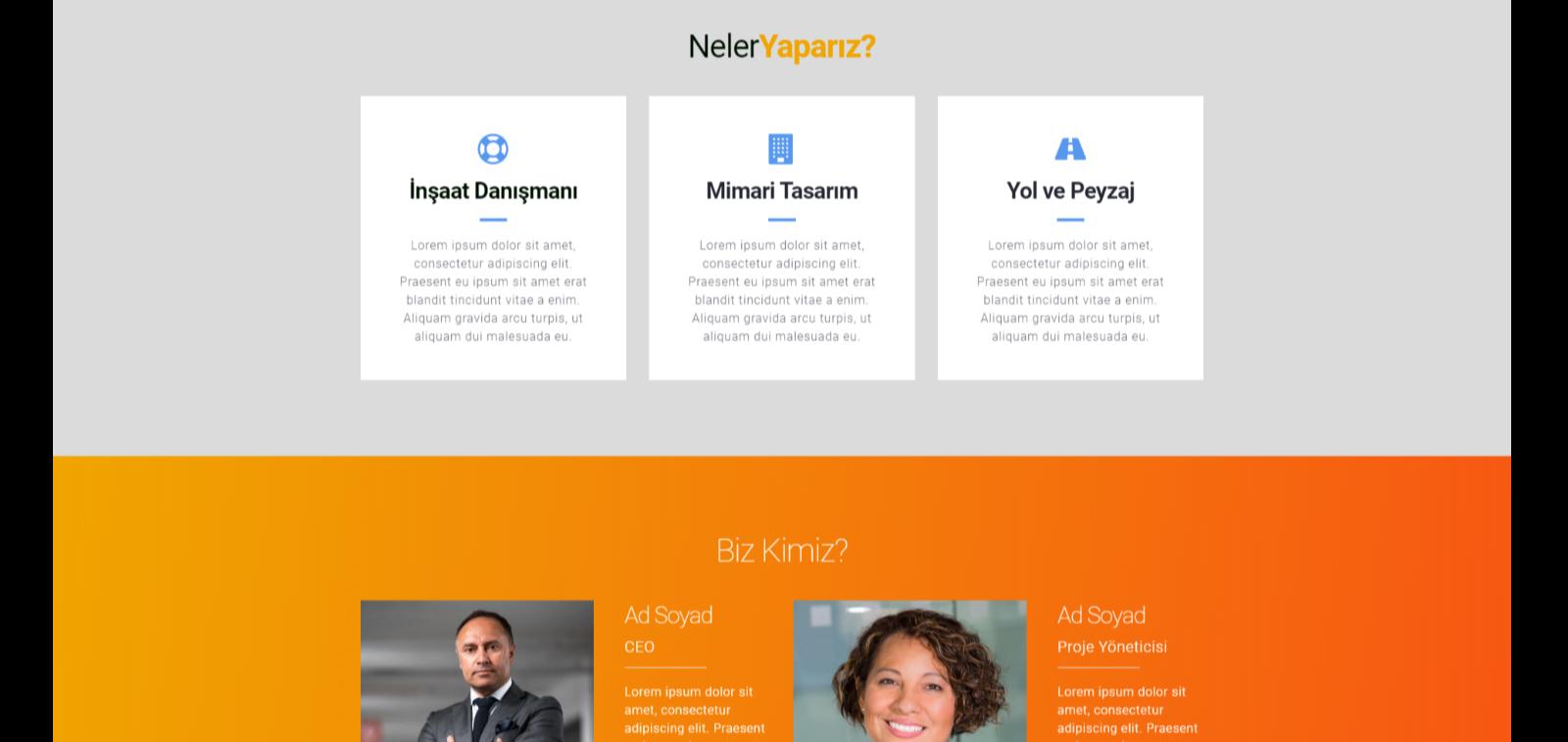 Profesyonel Web Tasarım Hizmetleri
