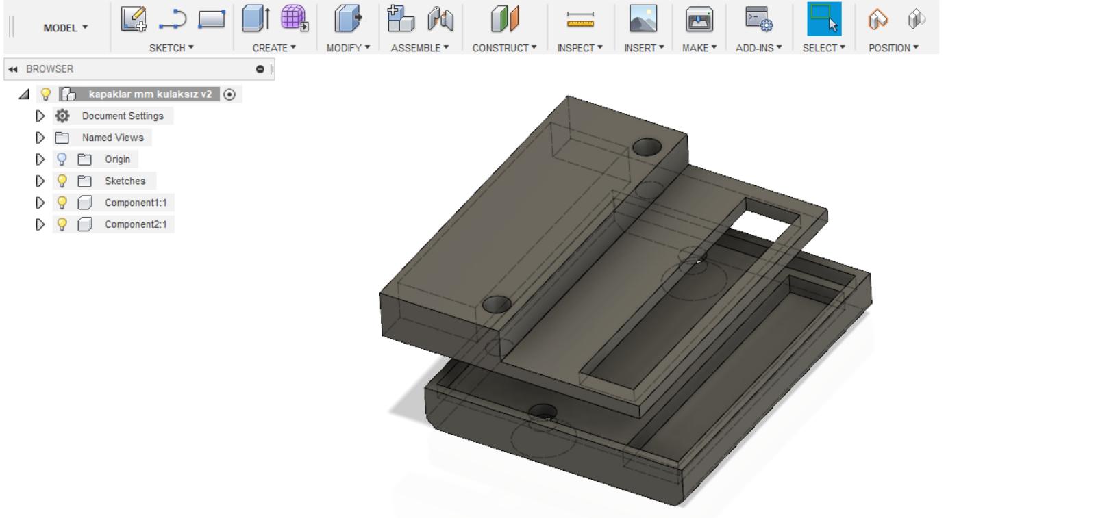 3D tasarım ve modelleme