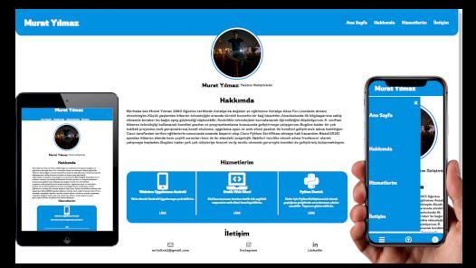 Sizin,kurumunuz ve ya girişiminiz için mobil uyumlu Landing Page Web sitesi yapabilirim