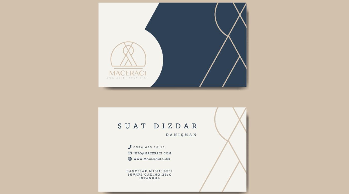 Ben, şahsınıza ait kartvizit tasarımı yapabilirim